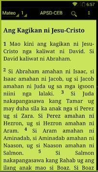 Cebuano Holy Bible   FREE apk screenshot