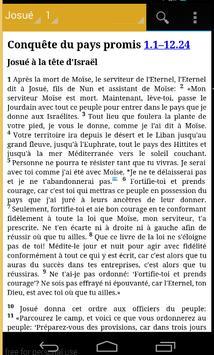 La Sainte Bible apk screenshot