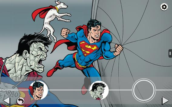 Superman and Bizarro Storybook apk screenshot
