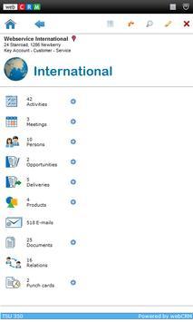 webCRM for Mobile Smartphones apk screenshot