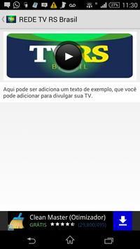 Rede TV RS Brasil apk screenshot