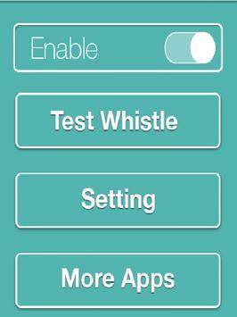 Whistle Receiver apk screenshot