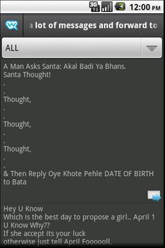Free sms by whozzat apk screenshot