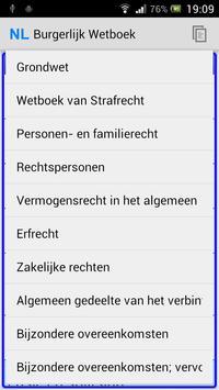 Nederlandse Wetboeken poster