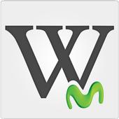 Wikipedia con Movistar (Chile) icon