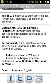 Wikipedia con Movistar (Chile) apk screenshot