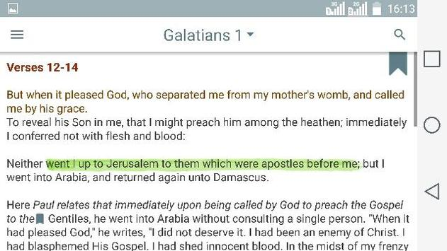 Luther's Bible Commentary apk screenshot