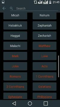 The Holy Bible. New Testament apk screenshot