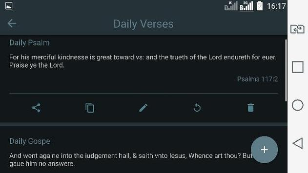 1611 King James Bible apk screenshot
