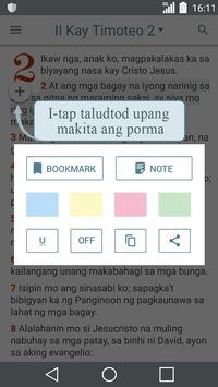 Bibliya sa Tagalog poster
