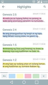 Bibliya sa Tagalog apk screenshot