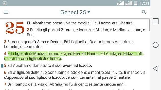 Bibbia. Giovanni Diodati apk screenshot