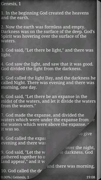 World English Bible (WEB) apk screenshot