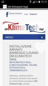 DM Klimatech Sagl apk screenshot