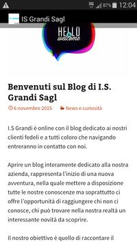 IS Grandi Sagl apk screenshot