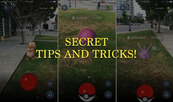 Tricks for Pokemon Go Beta poster