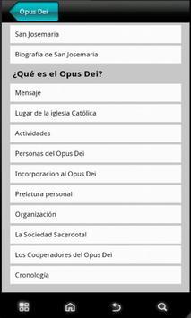 Opus Dei News apk screenshot