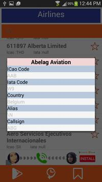 Airlines Data apk screenshot