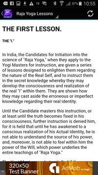 Raja Yoga Lessons Audio & Text apk screenshot