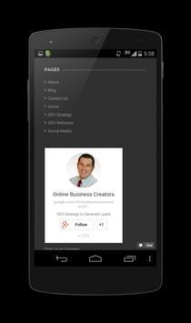 Online Business Creators apk screenshot