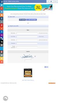 BuckGet - Make money online apk screenshot