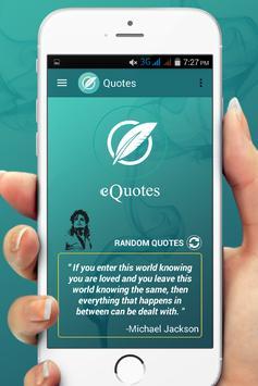 eQuotes apk screenshot