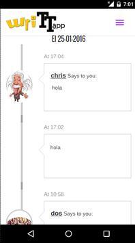 WriTTapp - Red Social apk screenshot