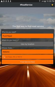 4 Road Service - Truck Repair apk screenshot