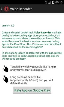Voice Recorder - Dictaphone apk screenshot