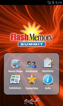Flash Memory Summit 2014 poster