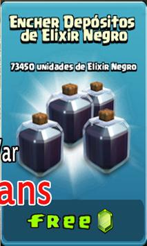 Calculator Clash Of Clans apk screenshot