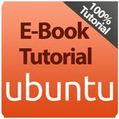 E-Book Tutorial Linux Ubuntu icon