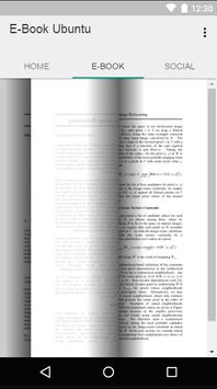 E-Book Tutorial Linux Ubuntu apk screenshot