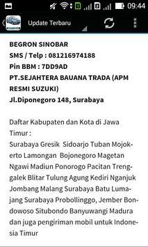 Suzuki Ertiga Surabaya apk screenshot