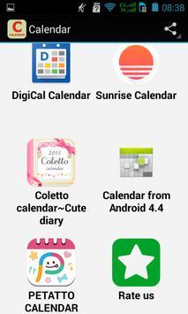 Top Calendar Apps apk screenshot