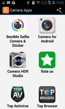 Top Camera Apps apk screenshot