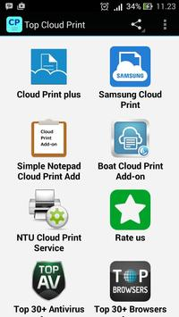 Top Cloud Print Apps poster