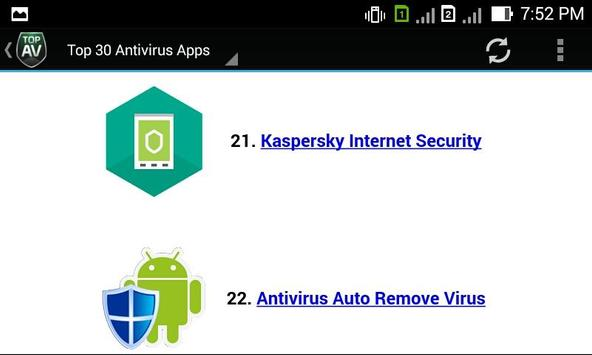 30+ Antivirus Apps apk screenshot