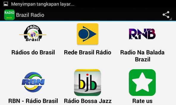Top Brazil Radio Apps apk screenshot