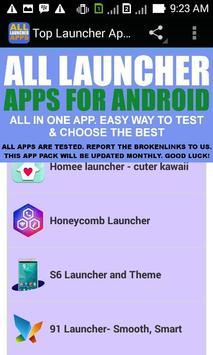 Launchers apk screenshot
