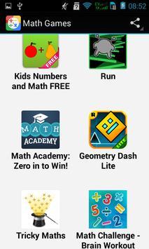 Top Math Games apk screenshot