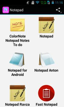 Top Notepad Apps poster