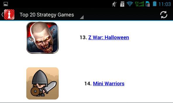 Strategy Games apk screenshot