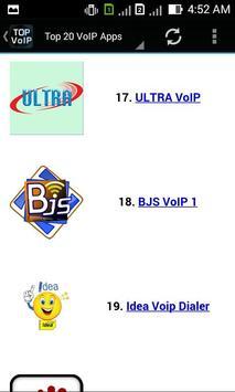 Top VoIP Apps apk screenshot