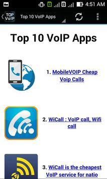 Top VoIP Apps poster