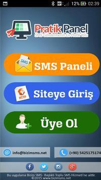 Bizim SMS   Pratik Panel poster