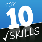The top ten employee skills icon