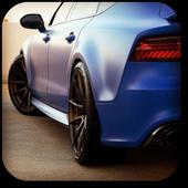 Modifiyeli Audi icon