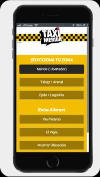 TAXI MERIDA apk screenshot