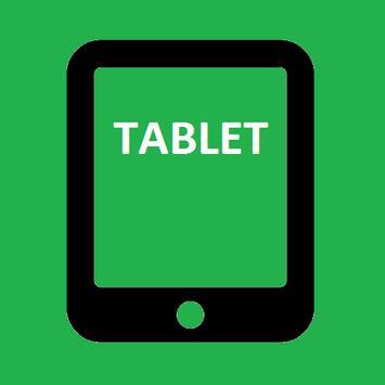 Tablet messenger for whatsapp poster